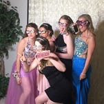 """Students arrive at McNary's """"A Vintage Affair at the Vineyard"""" prom on Saturday, April 9, 2016, at Zenith Vineyard in West Salem."""