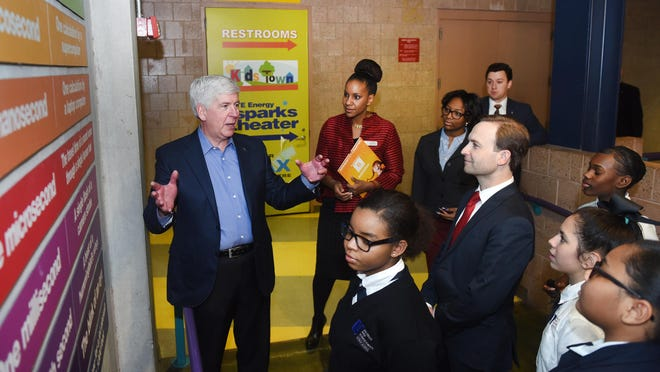 Gov. Rick Snyder lays out a convincing case for his blueprint to retain and create talent.