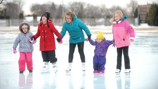 The McDermott Park skating rink in Fond du Lac is set to open Friday.