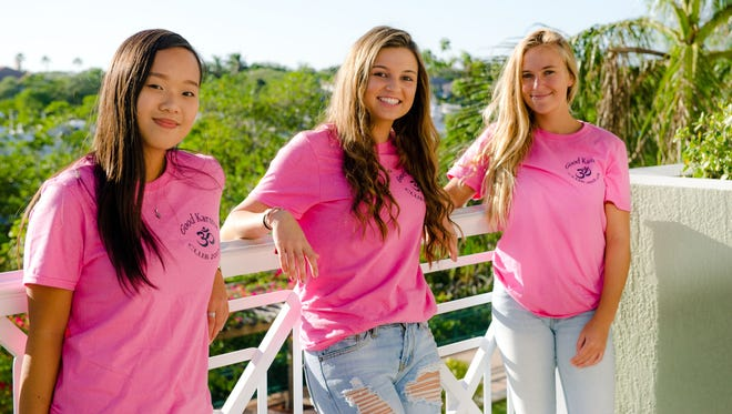 With two years remaining until graduation, the trio who started the Good Karma Club have different college plans - but all say they hope the club continues on long after they have graduated.