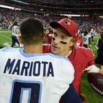 Blaine Gabbert visits Titans, could serve as backup for Marcus Mariota