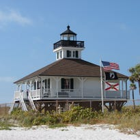 The white sandy beaches on Gasparilla Island make for a great setting and an excellent place to kick back and relax.