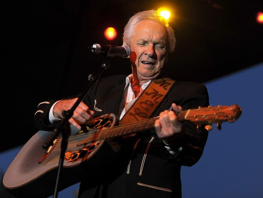 Musician Mel Tillis performs onstage during 2011 Stagecoach: