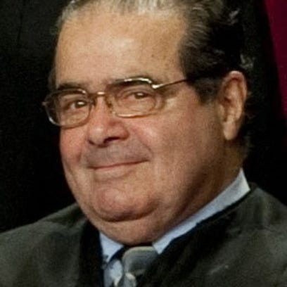Supreme Court Justices Antonin Scalia