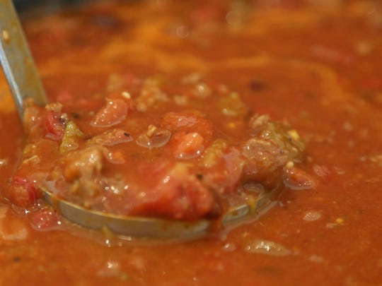 An ultimate comfort food, chili made with ground beef