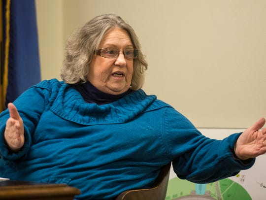 Joann Zimmerman, a Annville Township commissioner,