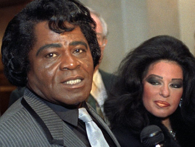 good gawd james brown through the years