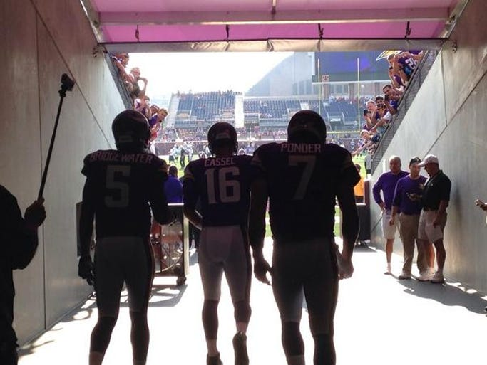 TCF stands for Teddy, Cassel, and the Florida State kid. #Gameday #Vikings