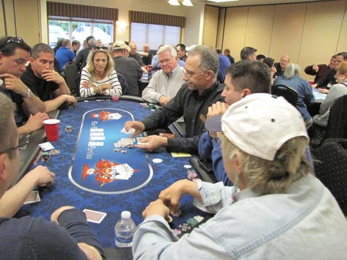 On Monday, Oct. 27, the Shimon and Sara Birnbaum Jewish Community Center (JCC), located at 775 Talamini Road in Bridgewater, will host a Texas Hold'em Tournament open to the community. The event will benefit The JCC Scholarship Fund, which assists underprivileged individuals and families so that they can participate in events and attend the Blaustein Early Childhood Center and JCC Camp Ruach; the fund is open to the entire community. The $125 admission fee to the tournament includes start-up chips, dinner, snacks, an open bar, prizes and more. Tournament prizes include VISA Gift Cards and other gifts. Doors open at 6:30 p.m., and the tournament begins promptly at 7:15 p.m. Sponsorship opportunities also are available For additional information, to register and to become a sponsor, contact Debbie Golden at 908-725-6994, ext. 210, or email DGolden@ssbjcc.org.