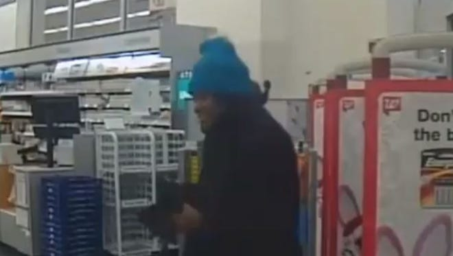 Livonia police are seeking this woman as a person of interest in a theft of a purse from the Livonia Salvation Army on Plymouth Road.