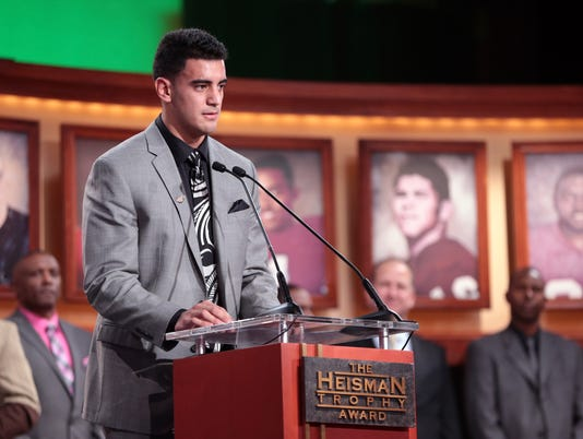 Marcus Mariota's Heisman years in making, but not made up