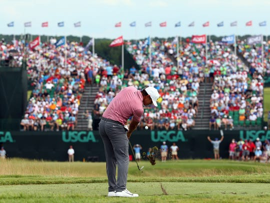 Former Florida State golfer Brooks Koepka clinched
