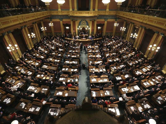 The Michigan Legislature is considering a large number of controversial bills during its lame duck session.
