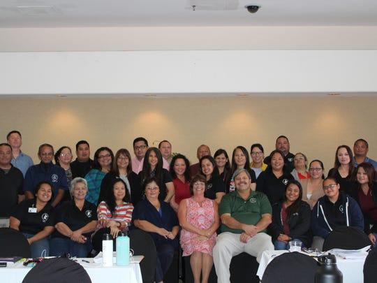 The staff and management at the Guam Housing and Urban Renewal Authority recently completed certification courses in the Public Housing Assessment Systems and Uniform Physical Condition Standards Aug. 28 through Sept. 1 at the Pacific Star Hotel. Guest Trainer, Beth Turner from the National Association of Housing and Redevelopment.