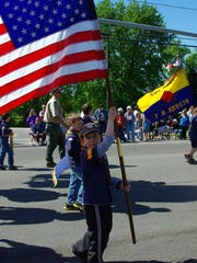 Patriotism is on full display at last year's Memorial Day parade in Webster.