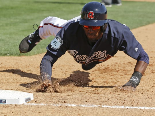Second baseman Travis Demeritte could be a target for