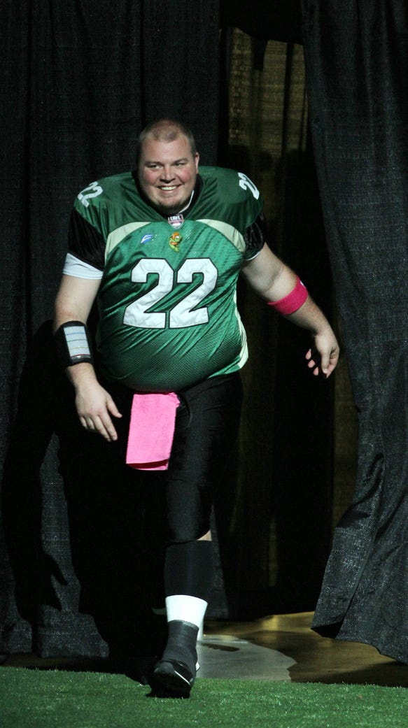 Quarterback Jared Lorenzen of the Northern Kentucky