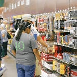 Customers shopped in May at the Gander Mountain outdoor sporting goods store in East El Paso.