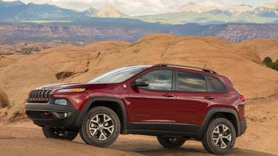 The 2014 Jeep Cherokee is one of Chrysler'Â?Â?s hits. Chrysler'Â?Â?s U.S. sales jumped 13 percent in March, helped by strong sales of the new Jeep Cherokee and the Ram pickup.