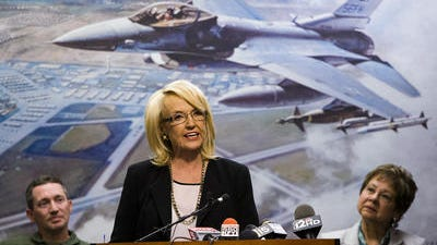 Gov. Jan Brewer is reminding the state's Capitol Hill delegation of the importance of federal military spending to Arizona's economy.  She wants them to fight proposed Defense Department cuts.