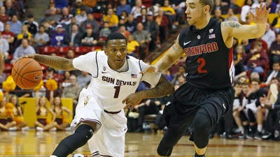 Arizona State point guard Jahii Carson left school early to enter the NBA Draft.