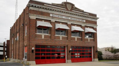 Old Fire Station 16 in downtown Salisbury.