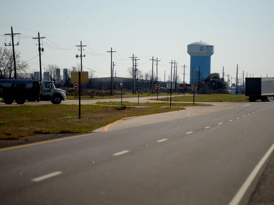 The Port is located south on Highway 1in Shreveport.