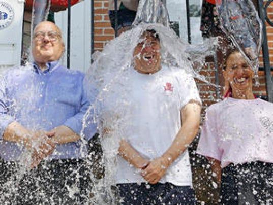 Ice Bucket Challenge in Pelham