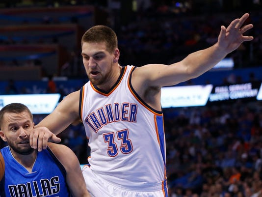 Thunder forward Mitch McGary suspended for drug violation