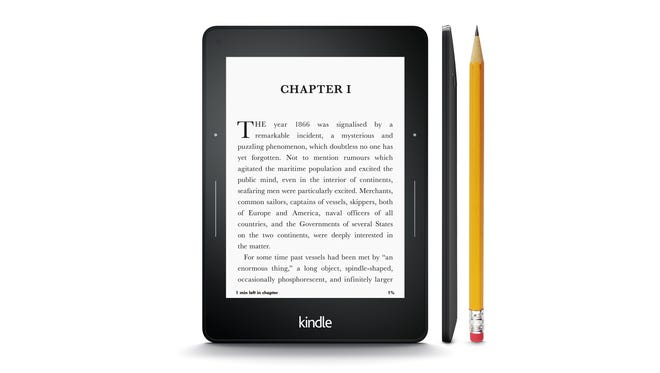 The Kindle Voyage comes with a high-resolution display and a new feature that lets you turn pages by simply pressing its bezel.