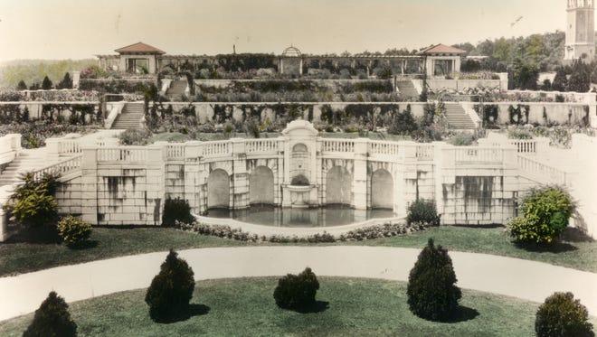 Historic photo of Swannanoa.