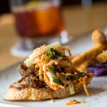 The banh mi-inspired duck confit is one of the small plates being served Oct. 15 during the Biggest Little Tasting Party at the Depot Craft Brewery Distillery.