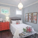 A bedroom at the Southern Belle, which is part of Homearama 2016 in River Crest in Mount Washington.