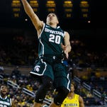 Michigan State and guard Travis Trice have won three in a row since the home loss to Illinois on Feb. 7.
