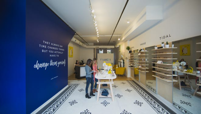 The Frameri opened a pop-up shop in late 2015 and closed the shop in January 2016.