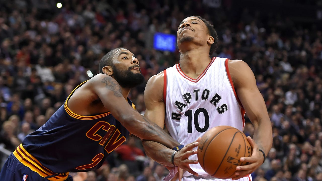 Former NBA player Eddie Johnson ponders whether the Toronto Raptors have enough to supplant the Cleveland Cavaliers as NBA Eastern Conference champions.