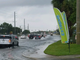 Roads were flooding on U.S. 1 at Jensen Beach Boulevard
