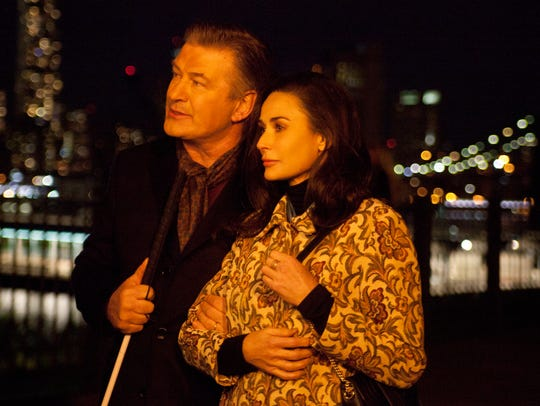 "Alec Baldwin and Demi Moore star in ""Bliind."""