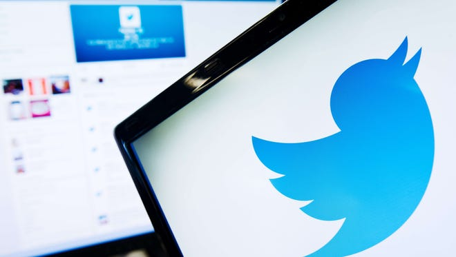 The logo of social networking website 'Twitter' is displayed on a computer screen in London in this September 11, 2013 file photo.