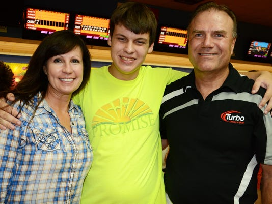 On the Town: Promise in Brevard Bowling Party