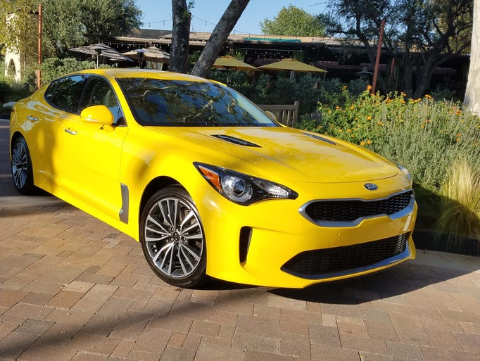 Starting at $31,000, the Kia Stinger 4-cylinder is
