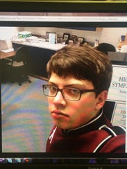 A photo of Jakob Wagner's Facebook page shows the 18-year-old
