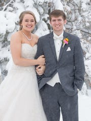 Jenna and Nathan Mulder were married Saturday during