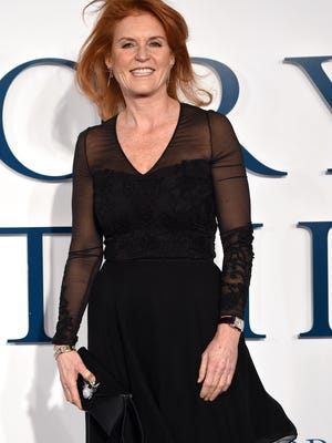 "LONDON, ENGLAND - DECEMBER 09:  Sarah Ferguson attends the UK Premiere of ""The Theory Of Everything"" at Odeon Leicester Square on December 9, 2014 in London, England.  (Photo by Karwai Tang/WireImage) ORG XMIT: 526754483 ORIG FILE ID: 460215224"