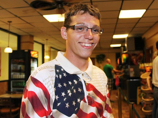 This 2012 photo provided by Joe Ingram shows JROTC cadet Skip Wells. Wells was one of four Marines killed in a shooting Thursday, July 16, 2015, in Chattanooga, Tenn. (Joe Ingram via AP)