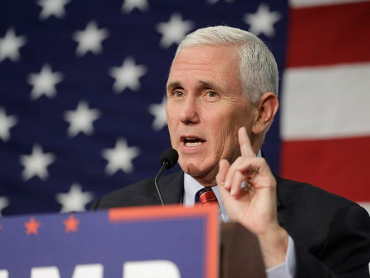 AP CAMPAIGN 2016 PENCE EVANGELICALS A ELN FILE USA IN