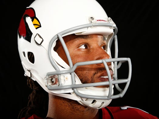 Arizona Cardinals wide receiver Larry Fitzgerald.