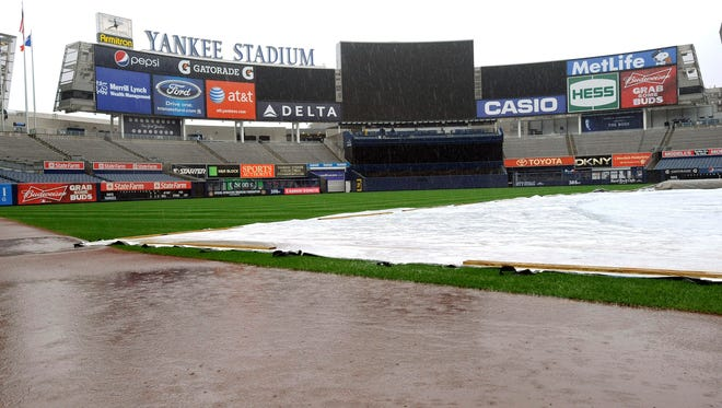 Thursday's Yankees-Royals game has been postponed and rescheduled for Sept. 25.