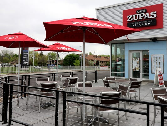Cafe Zupas open in 84South development