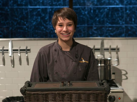 Sequoia Pranger is one of four finalists in the first-ever Chopped Teen Tournament on the Food Network.
